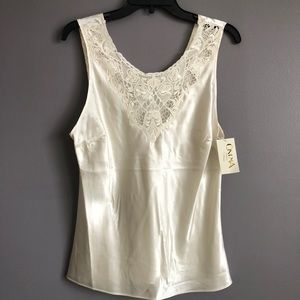 Cinema • Ivory Lace Cami